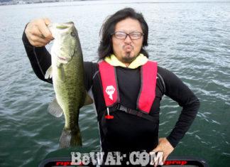 琵琶湖バスフィッシングガイドリポート ~麻生様~ 後編 44cm