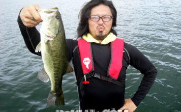 琵琶湖バスフィッシングガイドリポート ~麻生様~ 後編 44cm 27