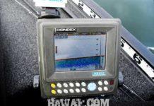琵琶湖へ (12月4日) 魚探掛け作業 16