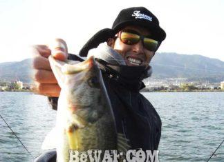 琵琶湖バスフィッシングガイドリポート ~竹中様~ 32cm