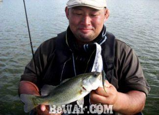 琵琶湖バスフィッシングガイドリポート ~前島様~ 30cm