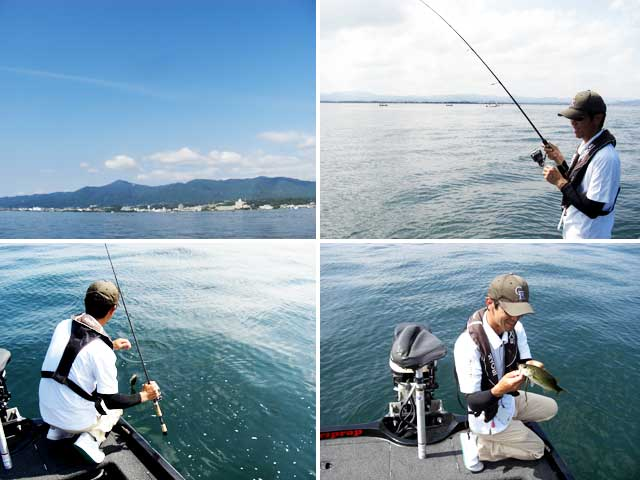 biwako guide yasui umai black bass blog 6