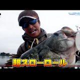 65cm(5500g)をスピナーベイトで捕獲動画!! (三宅貴浩)