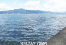 今日の琵琶湖 (by ビワエフ) 8月25日 1