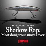 """ラパラの新商品""""Shadow Rap""""の真相が明らかに!! (US RAPALA)"""