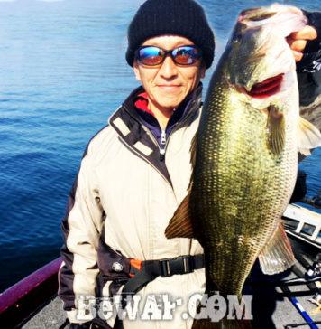 お客様からの釣果:関原様~琵琶湖で70本 最大55cm!! 1
