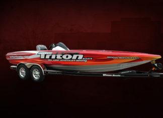 トライトンボートのラッピング (Triton Boats)