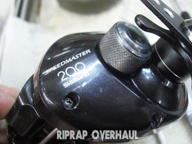 シマノ スピードマスター200 サイドカップ