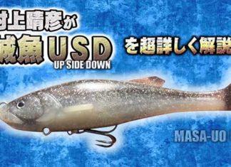"""逆テール系スイムベイト """"誠魚USD"""" の紹介!! (一誠)"""