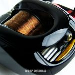 ベイトリール塗装リペイント (シマノ '07 メタニウム) 5