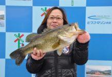 琵琶湖釣果 レベルバイブ で54cm!!