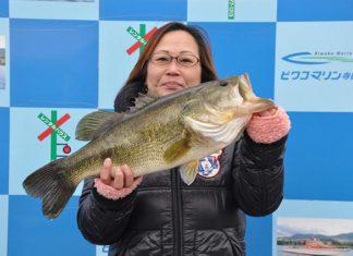 tweet釣果:レベルバイブ で54cm!! (琵琶湖)