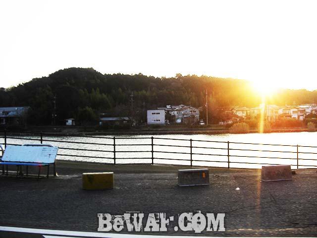 2017年3月18日 琵琶湖から瀬田川写真