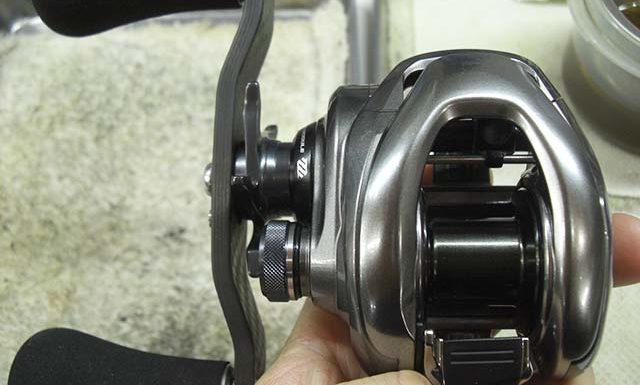 シマノ 15 メタニウムDC 修理写真