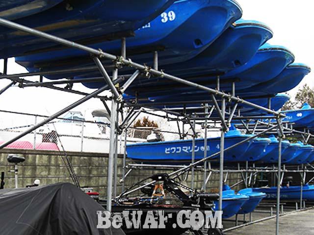 2017年3月18日 琵琶湖 バス写真