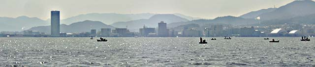 2017年3月18日 琵琶湖 写真