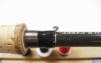 ブラックレーベル PF 701MFB フックキーパー取り付け 写真