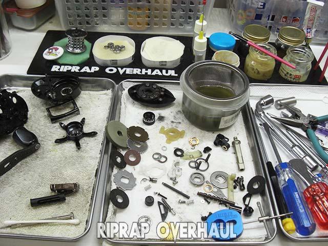 アブ レボ LTX オーバーホール 修理写真