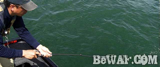 琵琶湖バスフィッシングガイドリポート ゴールデンウィーク釣り方 写真
