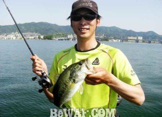 琵琶湖バスフィッシングガイドリポート ~佐々木様~ 45cm