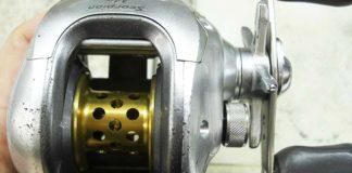 シマノ スコーピオン Mg 1000 オーバーホール写真