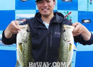 琵琶湖バスフィッシングガイドリポート ~柳様~ 44cm