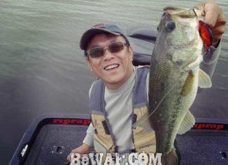 琵琶湖バスフィッシングガイドリポート ~小西様~ 43cm