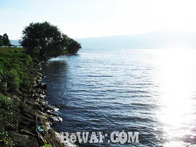 琵琶湖 支那 おかっぱり ポイント紹介写真
