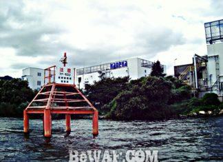 琵琶湖へ (2017年 8月3日) 湖上調査