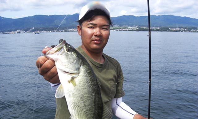 琵琶湖 木ノ浜沖 ボート釣果 写真