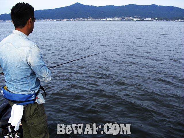 琵琶湖 スピナーベイト ロクマル釣果写真