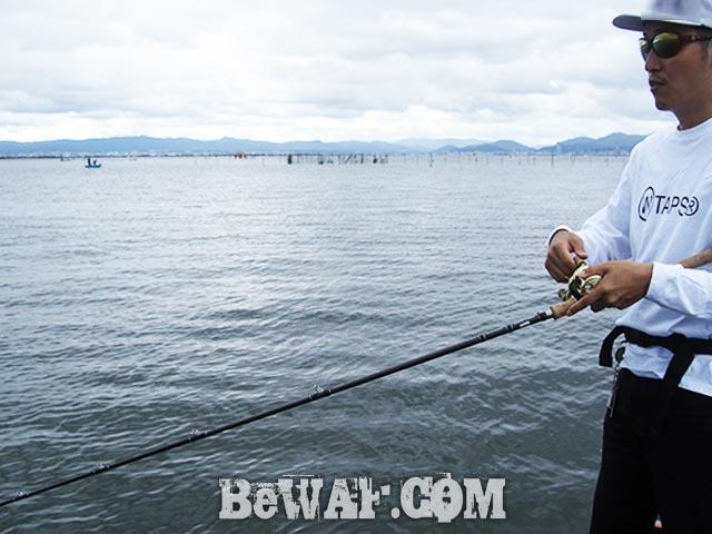 琵琶湖 秋 巻物 ガイドブログ釣果 写真