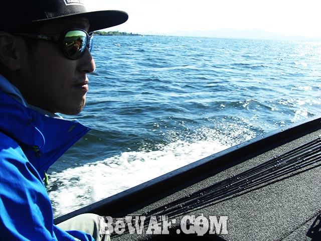 秋のスピナーベイト 北湖 釣果写真