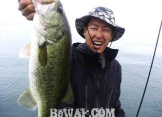 琵琶湖バスフィッシングガイドリポート ~竹中様~ 46cm