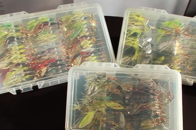 プラノ スピナーベイトボックス 3707-07 インプレ写真