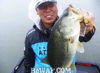 琵琶湖バスフィッシングガイドリポート ~大谷様~ 35cm