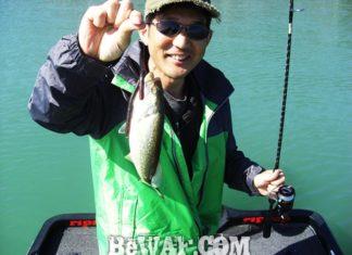琵琶湖バスフィッシングガイドリポート ~高木様~ 28cm