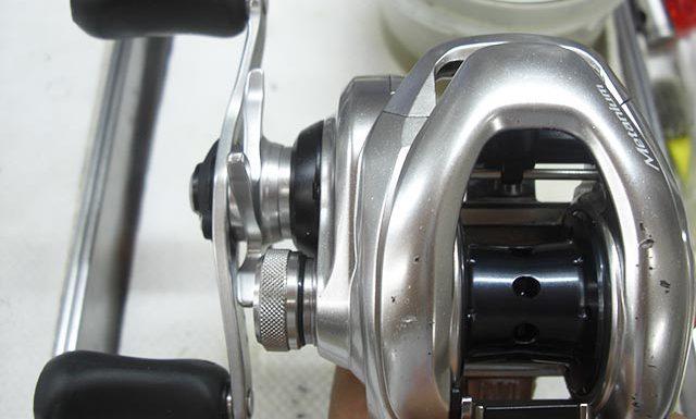 シマノ メタニウム mgl左 オーバーホール修理写真