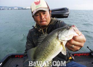 琵琶湖バスフィッシングガイドリポート ~工藤様~ 33cm