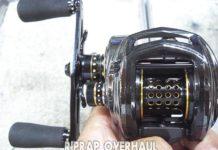 アブ レボ ブラック9 リールオーバーホール修理写真