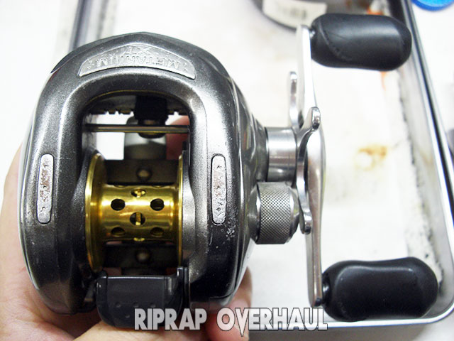 シマノ 05 メタニウムXT オーバーホール修理 写真