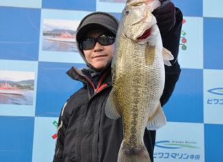 tweet釣果:メタルで 48cm x 52cm!! (琵琶湖)