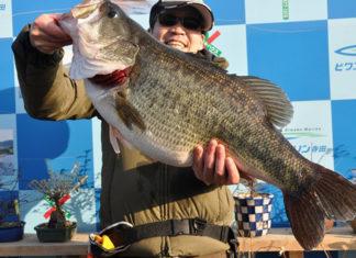 tweet釣果:ボカン!! スイムジグで62.5cm!! (琵琶湖)