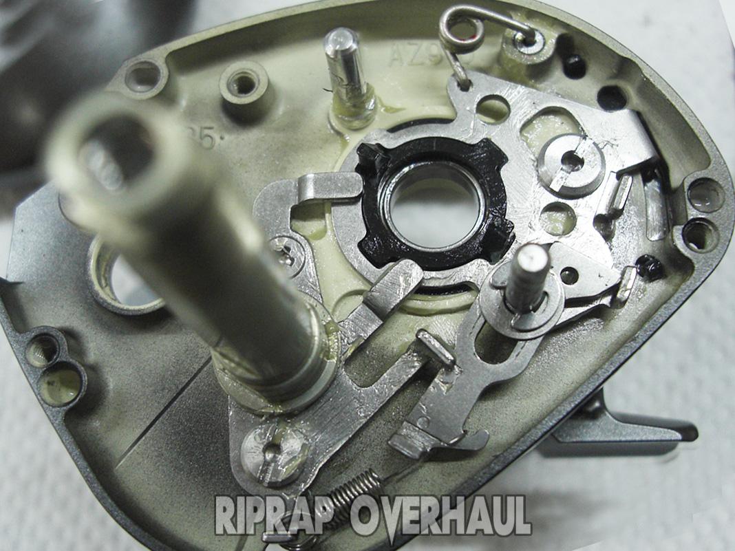 ダイワ スティーズ SV 6.3L 分解写真