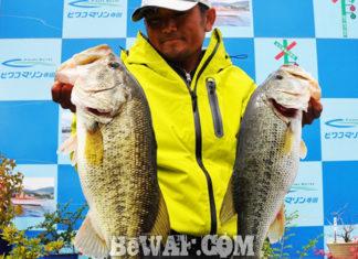 琵琶湖へ (4月27日) スローにアプローチして55&50cm