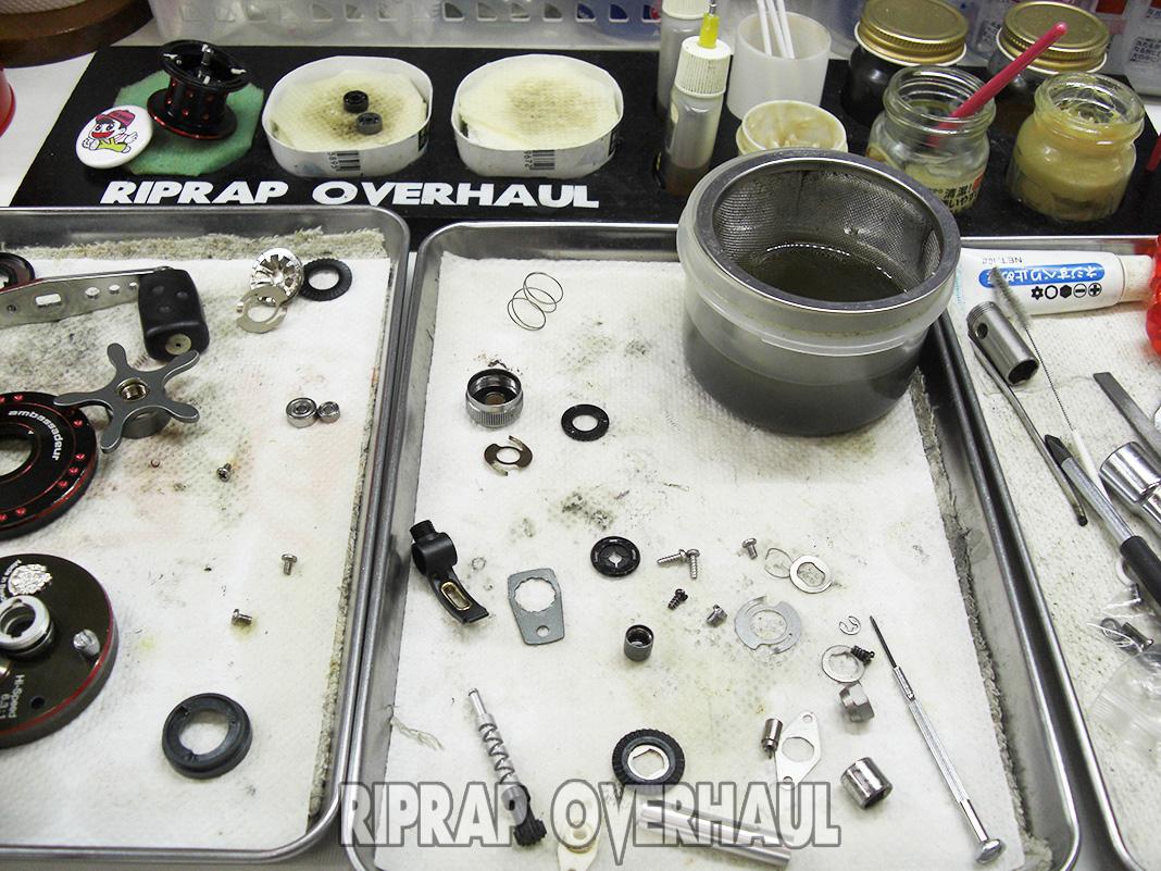 アブ ZX1600 オーバーホール修理メンテナンス写真
