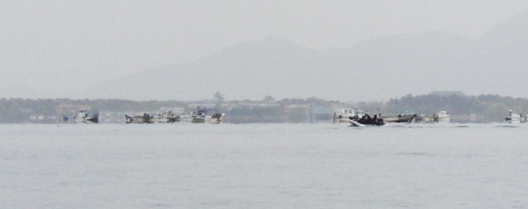 琵琶湖 釣行 4月18日 写真