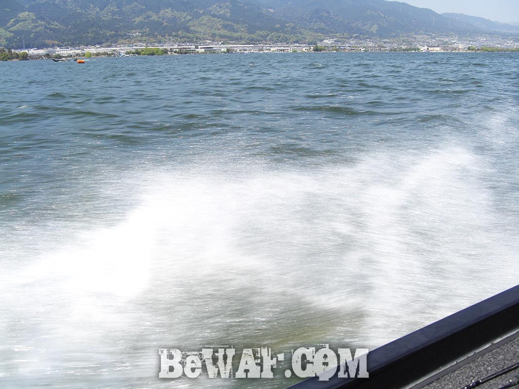 2018年4月20日 琵琶湖釣行日記 ダブル50アップ写真