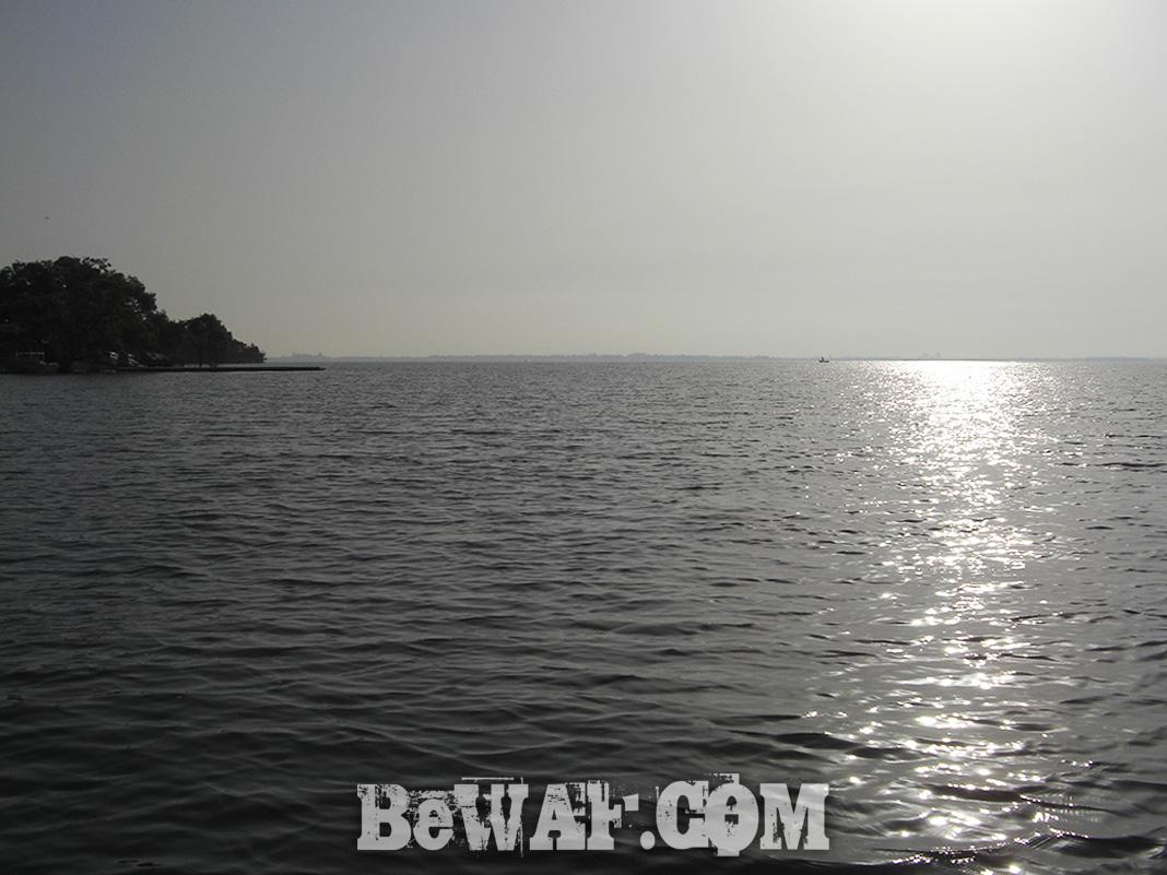 琵琶湖湖上調査 5月15日 写真