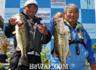 琵琶湖へ (2018年 5月9日) 河村ガイド勉強会53cm&55cm